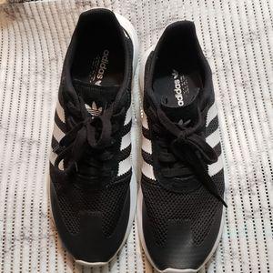 Adidas Flashback White & Black Women Sneaker 10.5